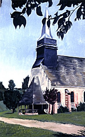 SAINT DENISCOURT,L'EGLISE